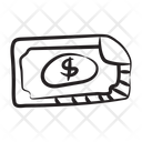 Dollar Money Banknote Currency Icon