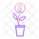 Dollar Money Plant Icon