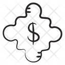Dollar Network Financial Network Corporate Network Icon