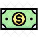 Dollar Note Cash Note Icon