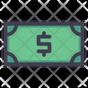 Dollar Note Money Banknote Icon