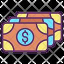Dollar Notes Icon