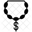 Dollar Pendant Icon