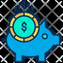 Dollar Piggy Icon