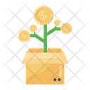 Money Growth Financial Growth Investment Growth Icon