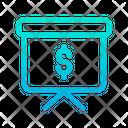 Dollar Presentation Icon