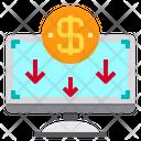 Banking Computer Finance Icon