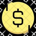 Dollar Processing Payment Processing Payment Process Icon