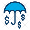 Dollar Protect Security Icon