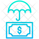 Dollar Insurance Money Icon
