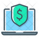 Dollar Protection Protection Online Payment Security Icon