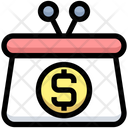 Dollar Purse Icon