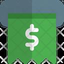 Dollar Receipt Icon