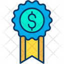 Dollar Reward Badge Reward Icon