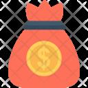 Dollar Sack Pouch Icon