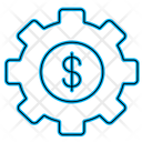 Dollar Setting Icon