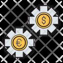 Dollar Setting Management Icon