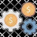 Dollar Setting Budget Set Business Icon