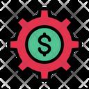 Dollar Setting Money Setting Dollar Icon