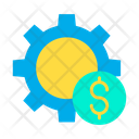 Dollar Setting Wheel Money Management Money Settings Icon