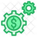 Dollar Finance Finance Setting Icon