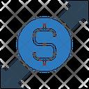 Dollar Sharing Dollar Money Icon