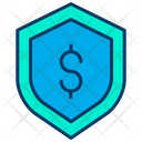 Dollar Shield Money Security Secure Money Icon
