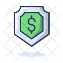 Dollar Shield Icon