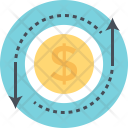 Valuation Arrows Directional Icon