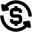 Dollar Sign Arrows Loading Icon