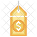 Dollar Sign Tag Icon