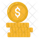 Dollar Coins Currency Coins Cash Icon