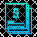 Dollar Statement Icon