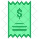 Statement Receipt Invoice Icon