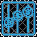 Dollar Statistic Icon
