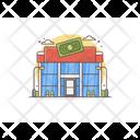 Dollar Store Dollar Building Dollar Shop Icon