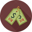 Dollar Tags Label Icon