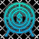 Dollar Target Dollar Target Icon