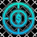 Target Dollar Business Target Icon