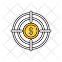 Dollar Target Money Icon