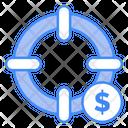 Dollar Target Finance Target Finance Goal Icon