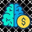 Dollar Think Icon