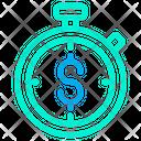 Dollar Track Icon