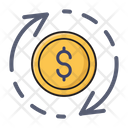 Dollar Transfer Money Icon