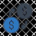 Transfer Exchange Money Icon