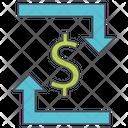Dollar Transfer Dollar Transfer Icon