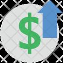 Dollar Up Icon