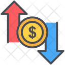 Dollar Up Down Icon