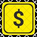 Dollar Usd Money Icon