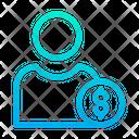 Dollar User Dollar Profile Male Profile Icon